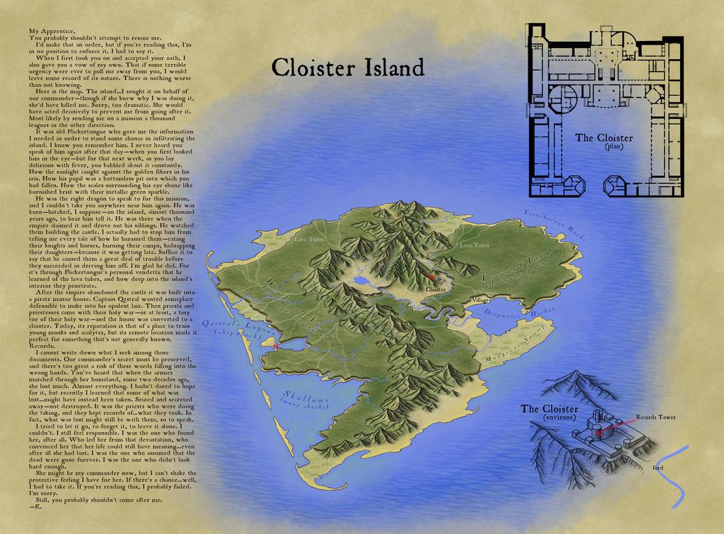 Award Winner: Cloister Island by XianPryde