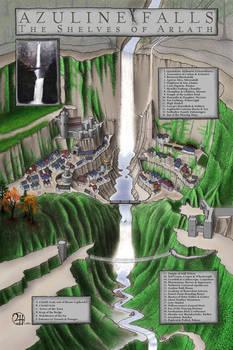 Azuline Falls: The Shelves of Arlath