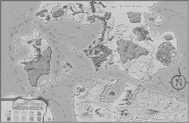 The Known World - RPG Commission Map