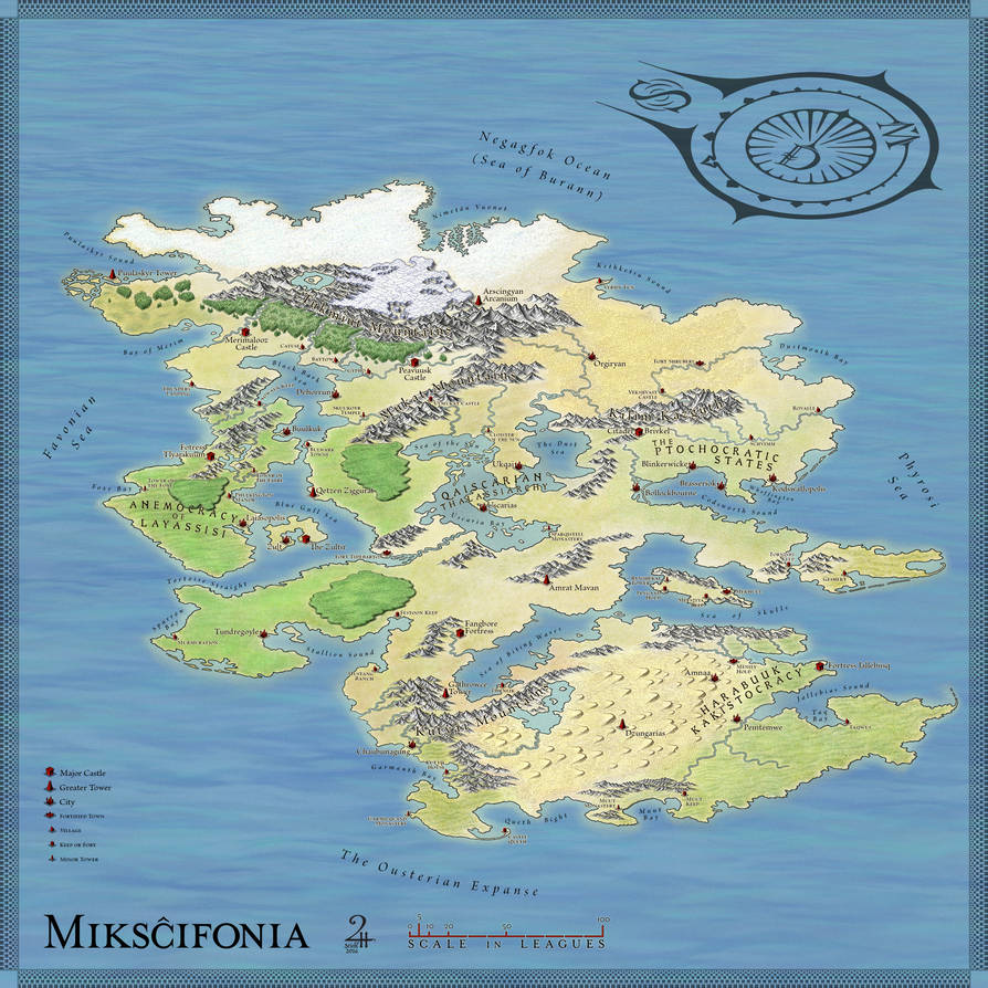 Mikscifonia: The Continent by XianPryde