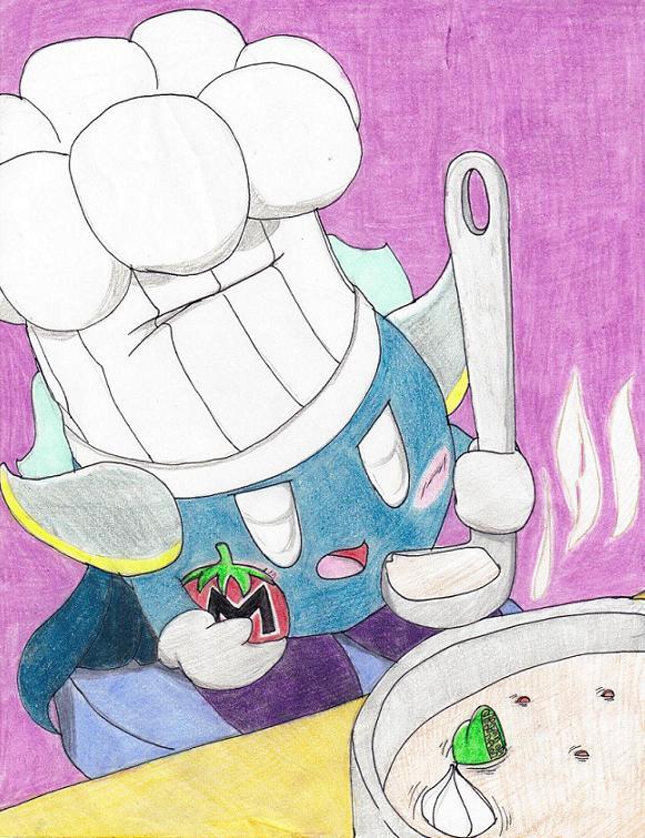 Meta Knight And Jigglypuff Meta knight cooking byJigglypuff And Meta Knight