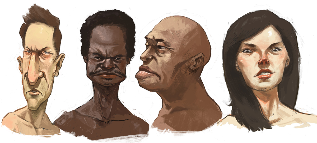 Practice Faces by JonEastwood