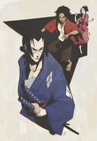 Samurai Champloo by JonEastwood