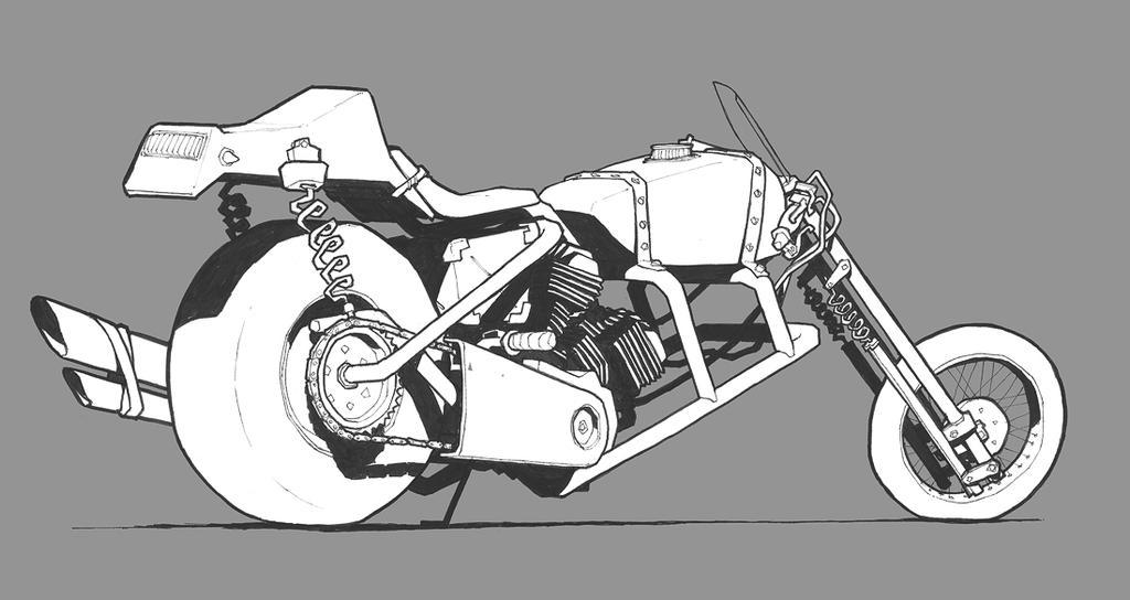 Sniper bike by JonEastwood