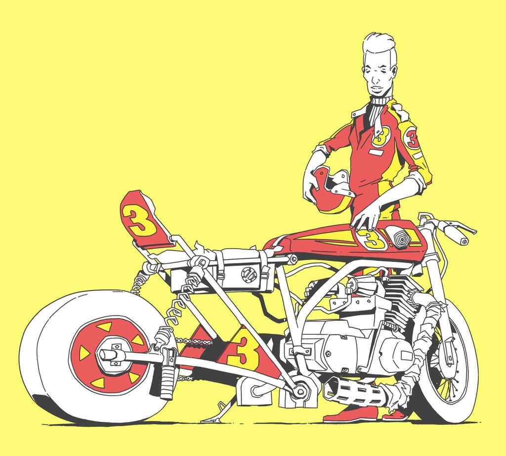 Racer by JonEastwood