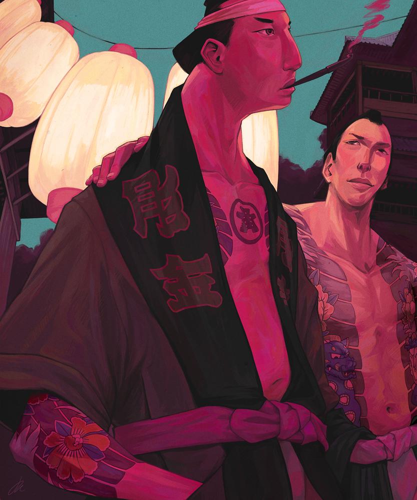 Gangster Bros by JonEastwood