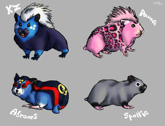 Zhu Zhu Pets as Real hamsters