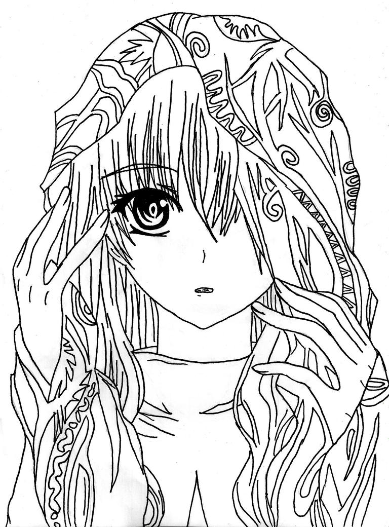 Angel coloring pages search results calendar 2015 for Anime angel coloring pages
