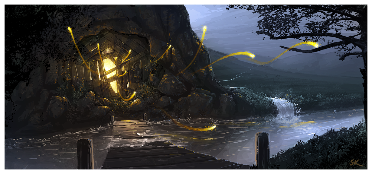 Sylvain's works [UP-Environment_05-P.5] - Page 2 Magical_Mine_by_Sylvain_Klein