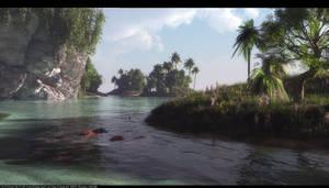 Paradise island by Klontak