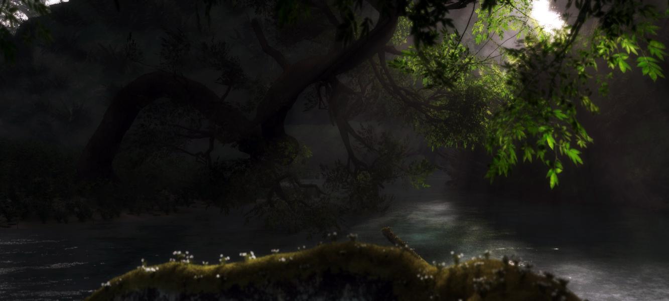 Mystical forest by Klontak