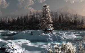 Winter Isolation by Klontak