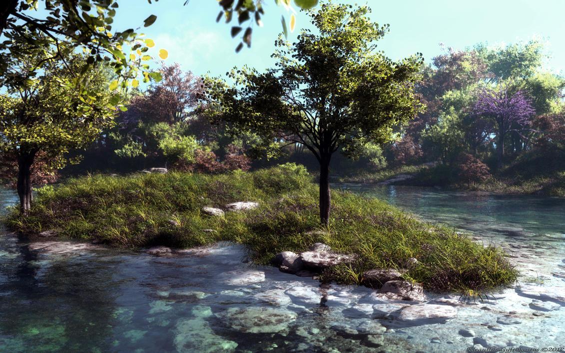 Juda's lake by Klontak
