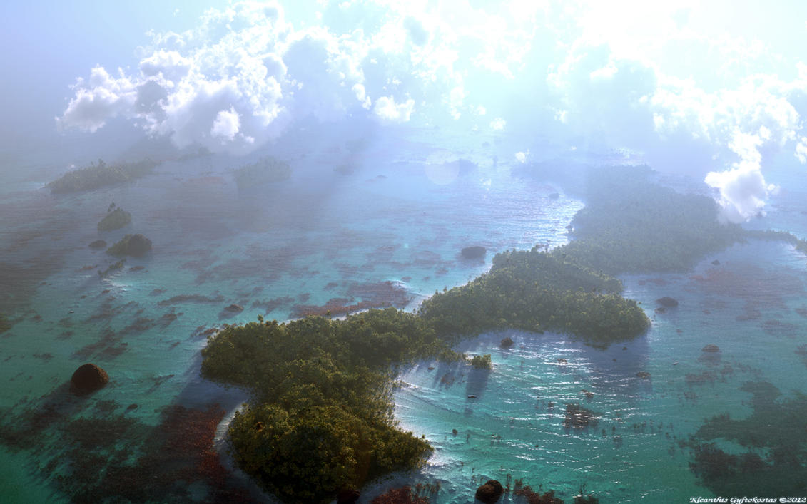 On my way to paradise by Klontak
