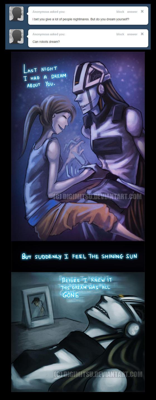 Ask Creepy GLaDOS: Dreams by Digimitsu