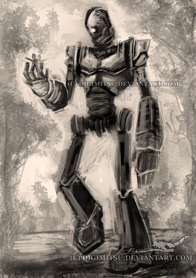 DSC The Iron Giant by Digimitsu