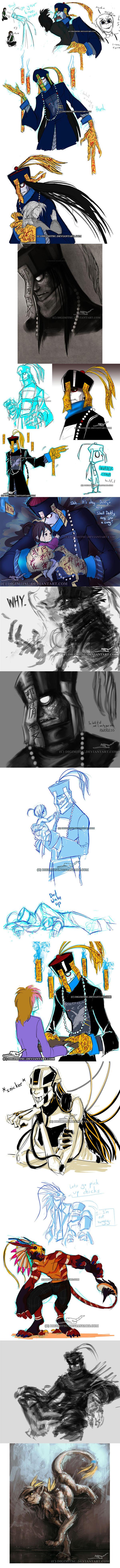 Mr China: Sketchdump 072813 by Digimitsu