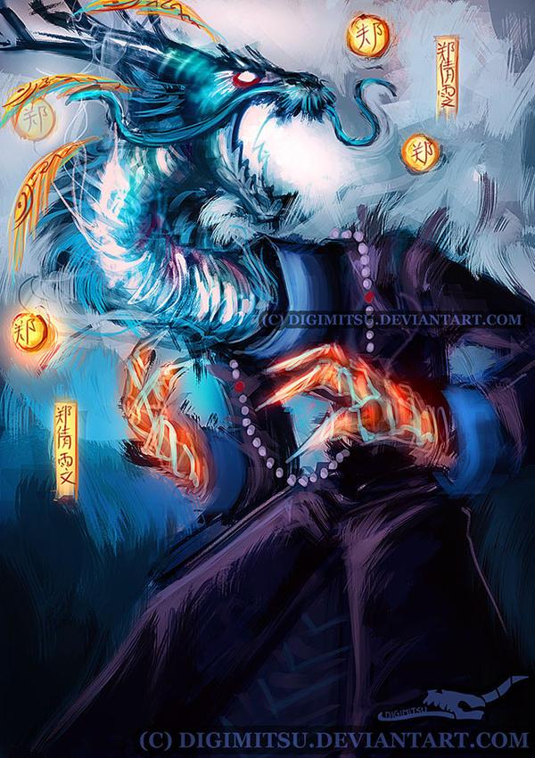 Mr China: Dragon by Digimitsu