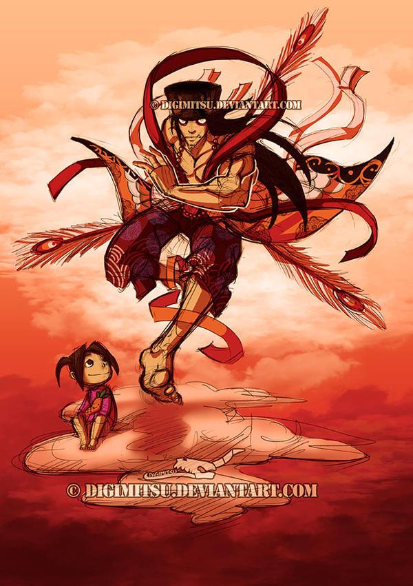 Deity Mr China 100313 by Digimitsu