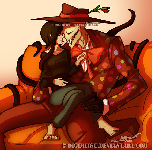 Creepy Splendorman 101513 by Digimitsu