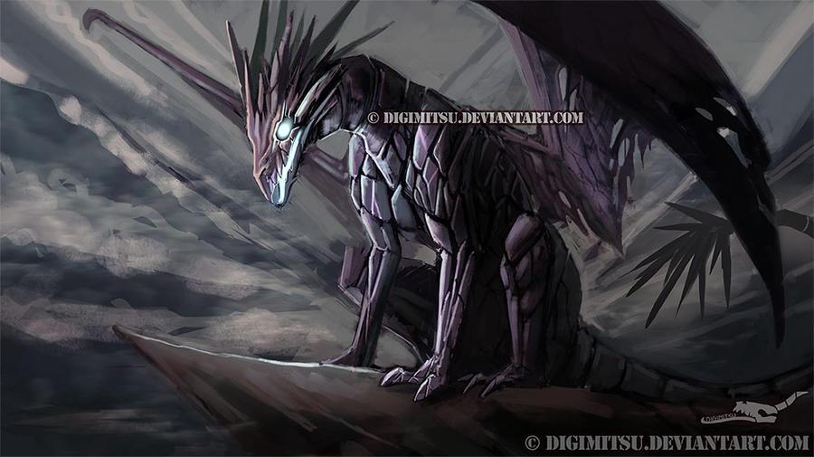 Commission: Dragoyle by Digimitsu