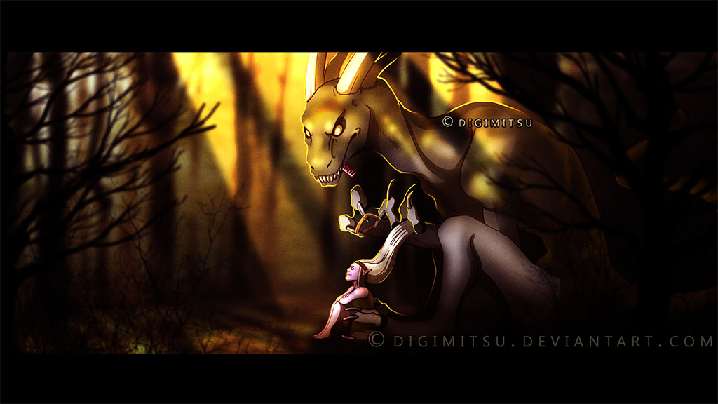 Art Trade: Titan and Kahli by Digimitsu
