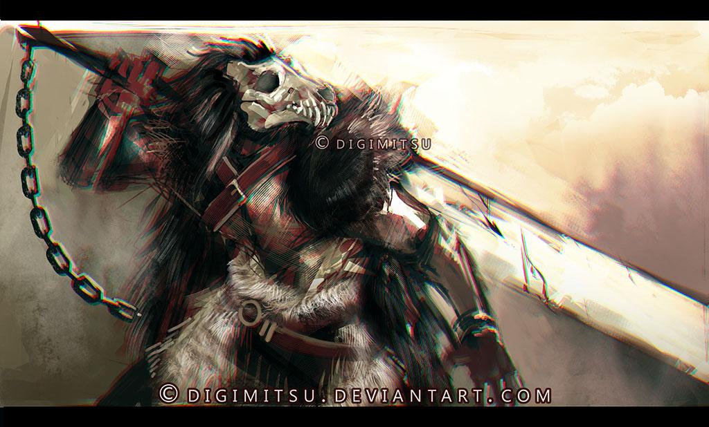 Art Trade: Fisukenka by Digimitsu
