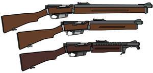 FSG Semiautomatic Rifle by CaldwellB734