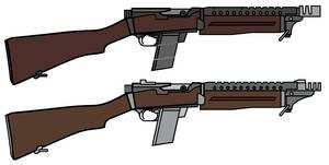FSG MK IV Automatic Rifle by CaldwellB734