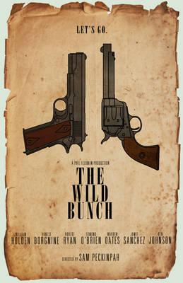 The Wild Bunch Gun Poster