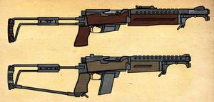 FSG MK V Folding Carbine