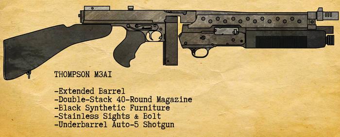 Thompson M3A1