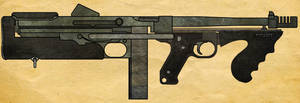 Thompson M3A1B Bullpup (What have I done? DX) by CaldwellB734