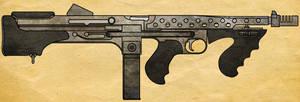 Thompson M3A2B Bullpup by CaldwellB734