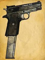 1911 Machine Pistol