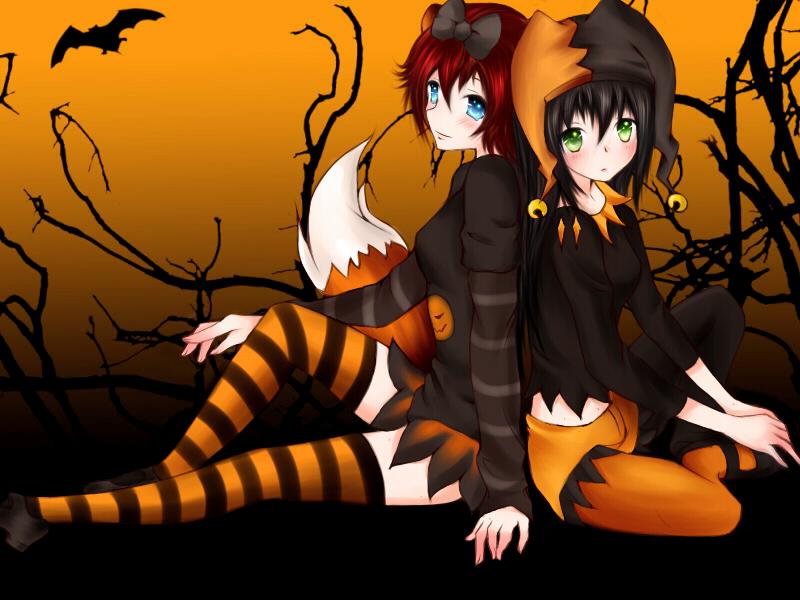 Halloween by Hoshiii-Chann