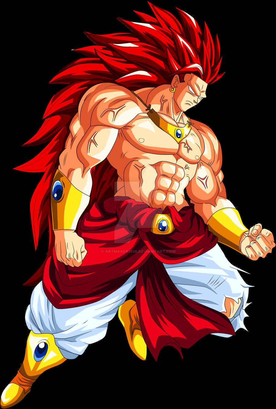 Dbz Broly Super Saiyan God | www.imgkid.com - The Image ...