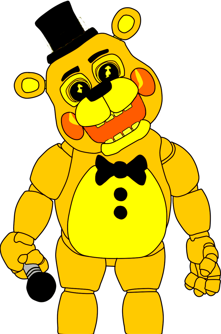 Golden toy freddy five nights at freddys by j04c0 on deviantart