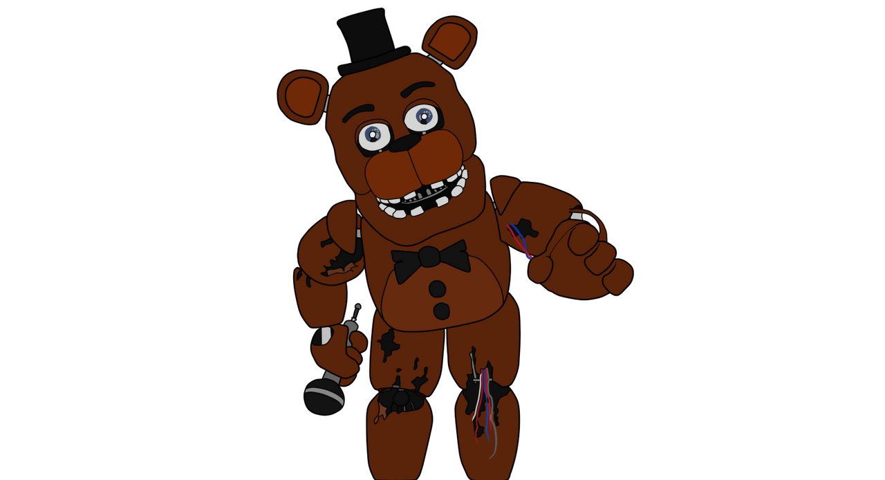 How to draw fnaf freddy steps - Withered Freddy Five Nights At Freddys 2 By J04c0 On Deviantart How To Draw Toy Fnaf