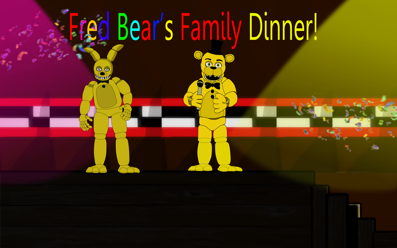 Fred bear 39 s family diner fnaf by j04c0 on deviantart for Family diner