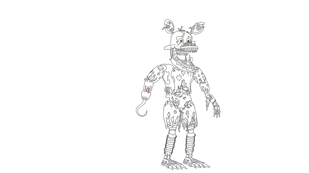 Foxy Nightmare in progress. by J04C0 on DeviantArt
