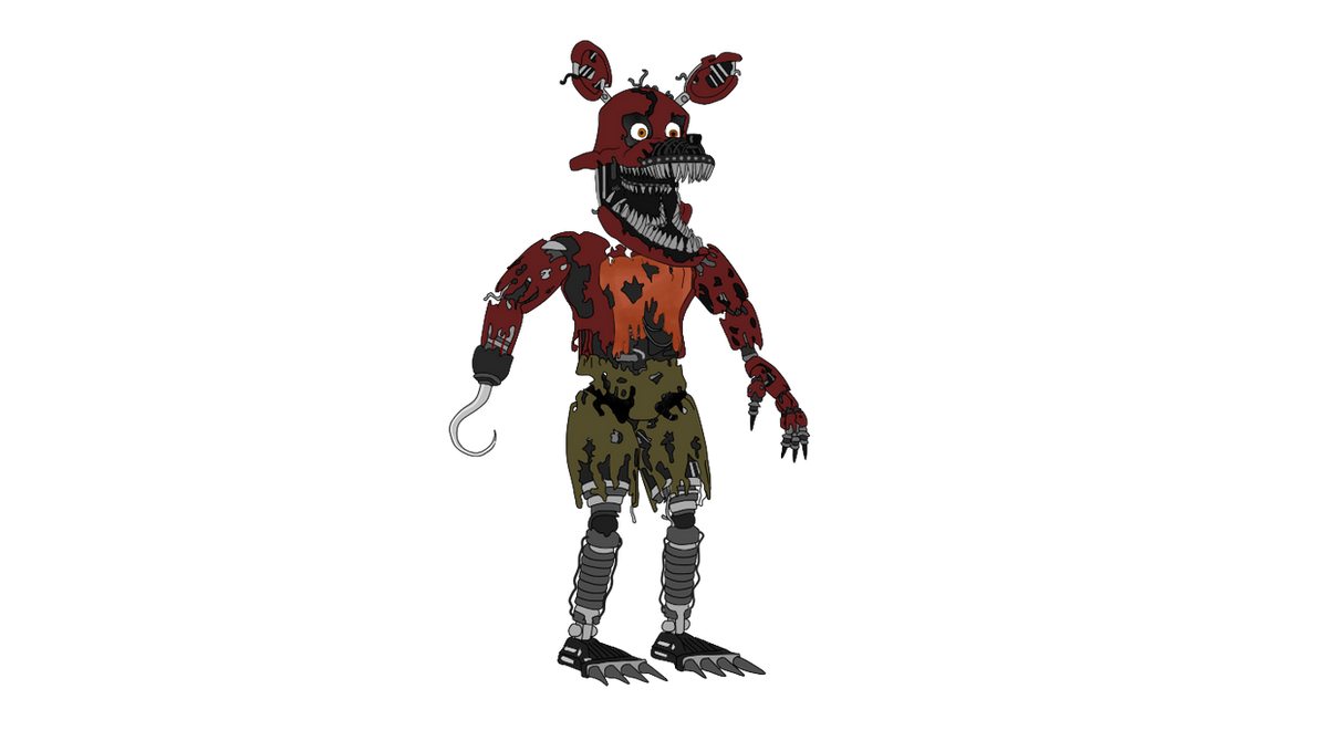 Nightmare foxy five nights at freddy s 4 by j04c0 on deviantart