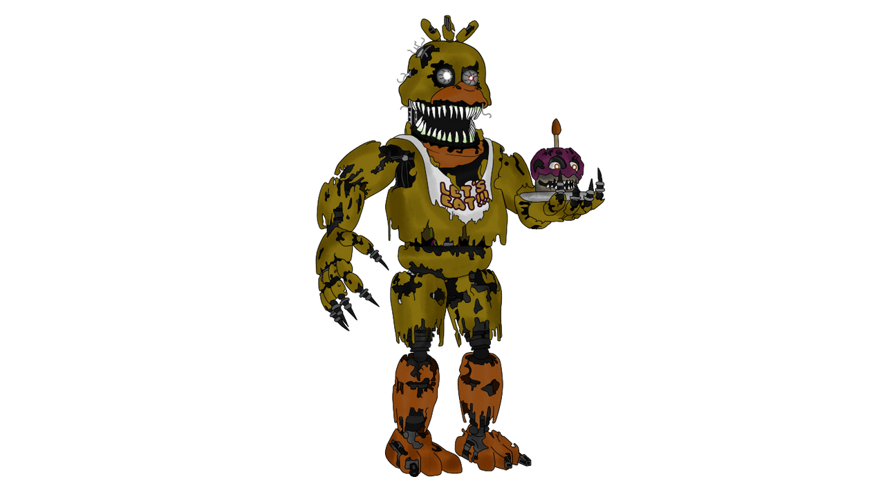 Nightmare chica five nights at freddy s 4 by j04c0 on deviantart