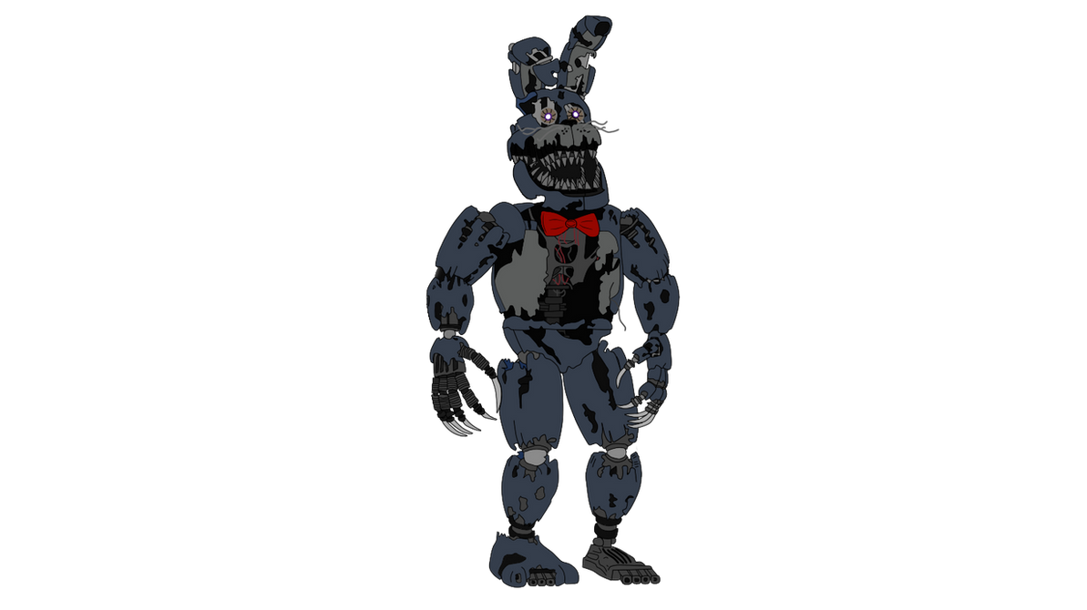 Nightmare Bonnie Five Nights At Freddy S 4 By J04c0 On