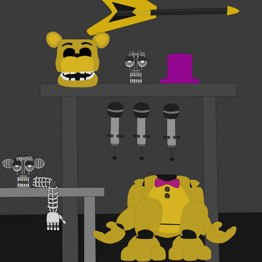 parts and service fredbear s family diner by j04c0 on deviantart