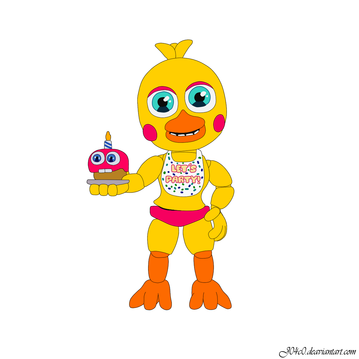 Adventure toy chica five nights at freddy s world by j04c0 on