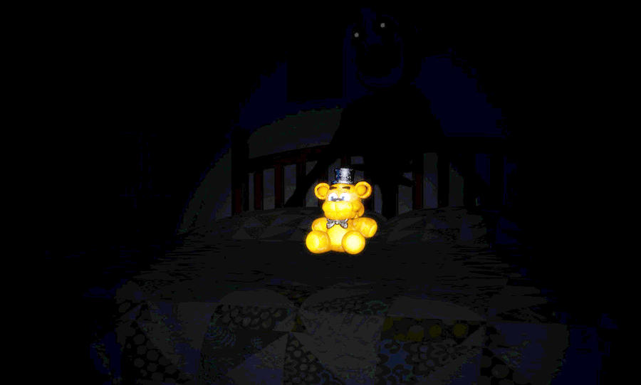 Nightmare Puppet Teaser - Halloween Update FNAF 4 by J04C0 on ...