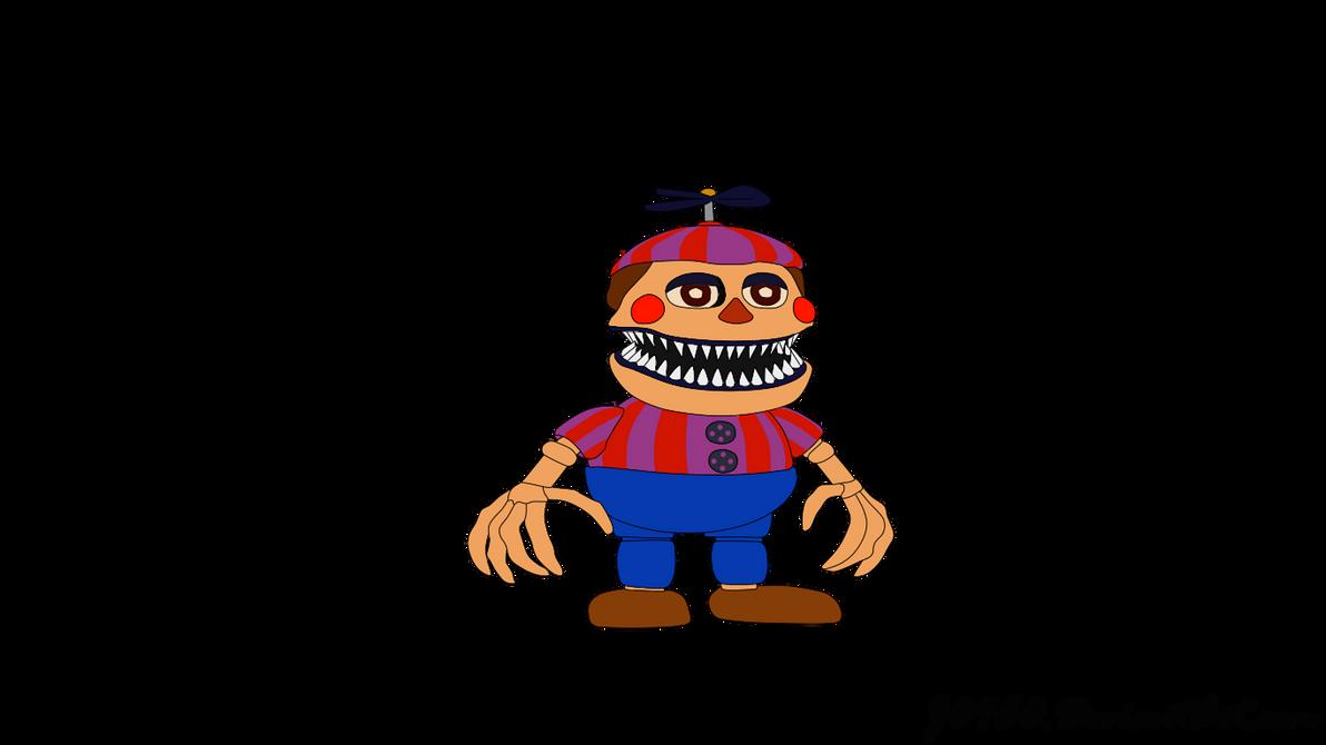 Nightmare Balloon Boy - FNAF 4 Halloween Edition by J04C0 on ...