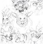 Moosemon Doodles