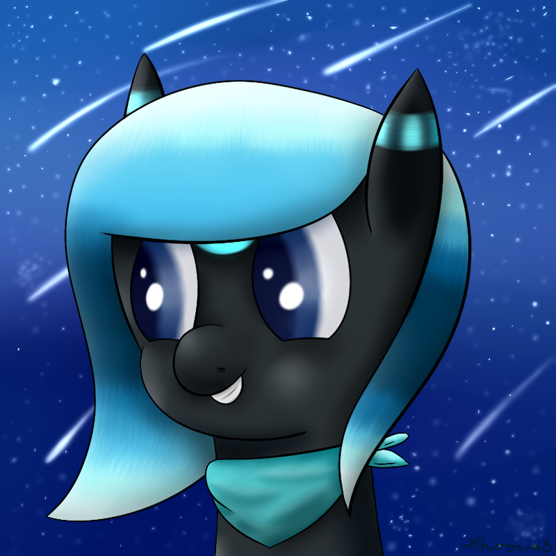 Request - Nova Blue by Zhooves